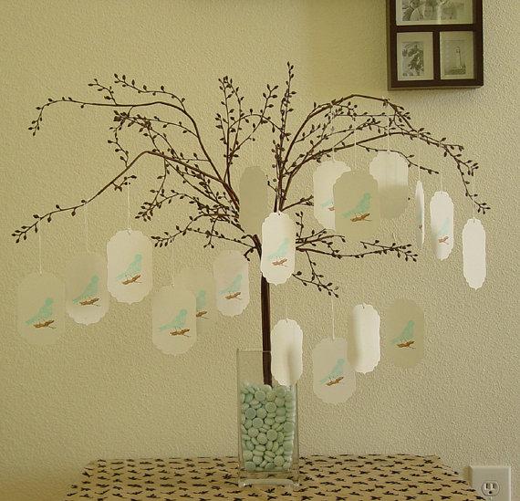 Wedding Wish Tree Tags By CraftZany On Etsy