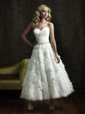 Allure Bridals Dress 8803, from tjformal.com