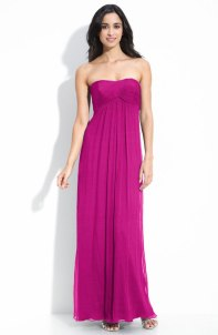 Amsale Strapless Chiffon Gown, from nordstrom.com