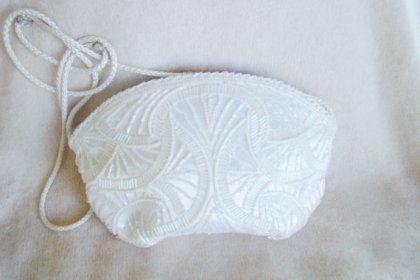 Beaded bag, by MyLadyJanes on etsy.com