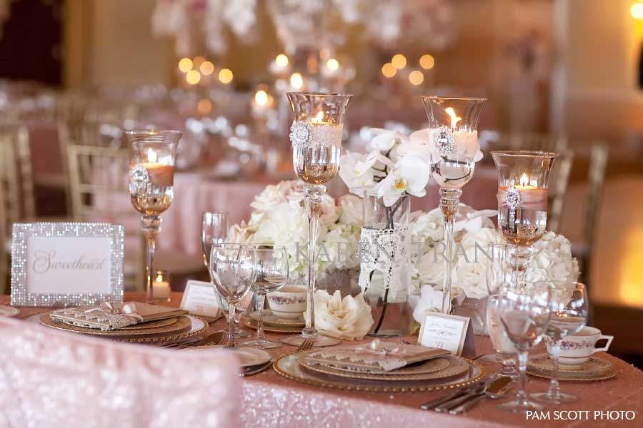 Blush And Gold Wedding Inspiration The Merry Bride