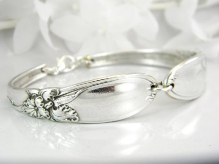 Bracelet, by SilverSpoonCreations on etsy.com
