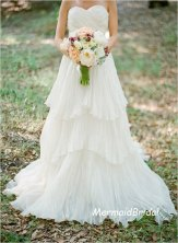 Bridal gown, by MermaidBridal on etsy.com