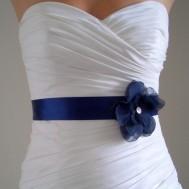 Bridal sash, by BridalShoppe on etsy.com