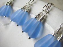 Bridesmaid earrings, by BostonSeaglass on etsy.com