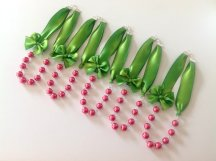 Bridesmaid necklaces, by liliwinklerbrides on etsy.com