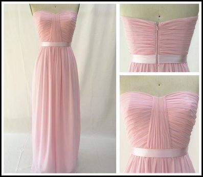 Chiffon dress, by MiLanFashion on etsy.com