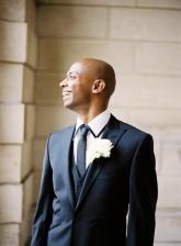 Classic groom style