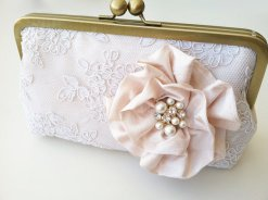 Clutch purse, by bigrockbridal on etsy.com