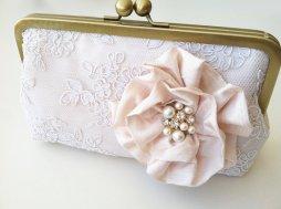 Clutch purse, by bigrockbridal on etsy.com