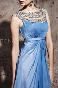 Cornflower blue dress, from adorona.com