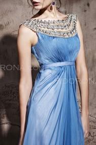 Cornflower blue dress, from adorona.com