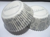 Cupcake liners, by MoonChi on etsy.com