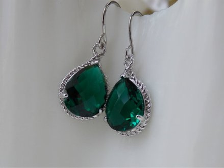 Earrings, by AuvergneJewelry on etsy.com