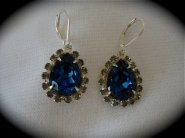 Earrings, by TheCrystalRose on etsy.com