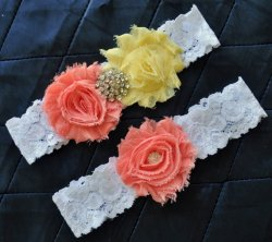 Garter set, by somethingnewdesigns on etsy.com