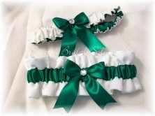 Garters (one to throw and one to keep), by CreativeBridal on etsy.com