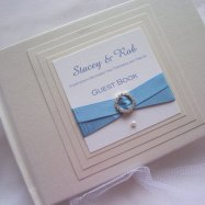 Guest book, by RedNell on etsy.com