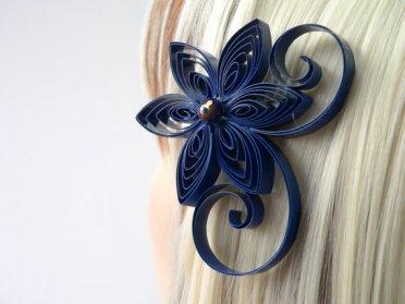 Hair accessory, by MiaettiaCreations on etsy.com