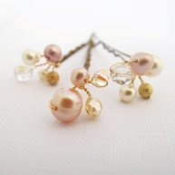 Hair pins, by LilyMVintage on etsy.com