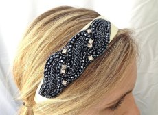 Headband, by SQUAREPEGMEG on etsy.com