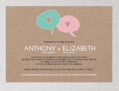 Invitation, by cartamodello on etsy.com