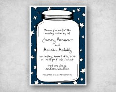 Invitation, by PaperInkLove on etsy.com