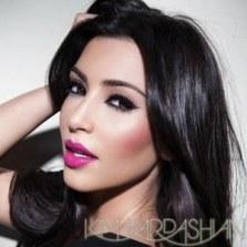 Makeup inspiration - fuchsia lips