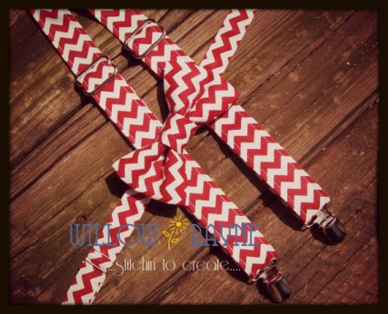 Pageboy suspenders and bow tie set, by WillowRayneDesigns on etsy.com