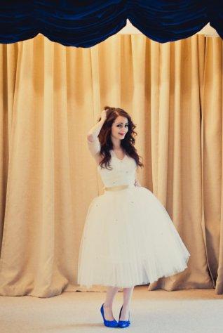 Reception dress, by alexandrakingdesign on etsy.com