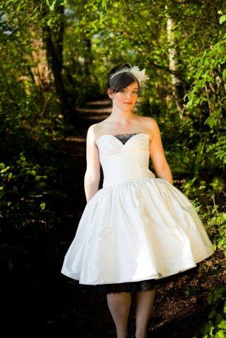 Reception dress, by BellaVittoria on etsy.com