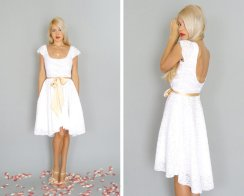 Reception dress, by dahlnyc on etsy.com