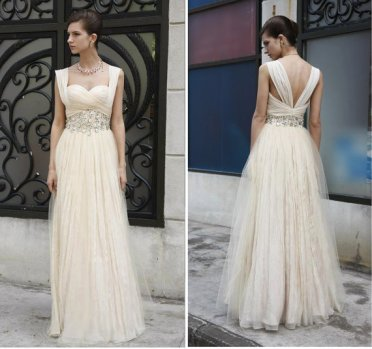 Reception dress, by EntreNousBridal on etsy.com