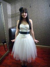 Reception dress, by WeddingDressFantasy on etsy.com
