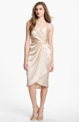 Suzi Chin for Maggy Boutique Embellished Charmeuse Halter Dress, from nordstrom.com