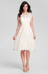Ted Baker London Embroidered Mesh Fit and Flare Dress, from nordstrom.com