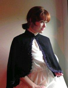 Vintage shoulder cape, by HamsterdamVintage on etsy.com