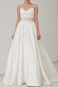 Wedding dress, by 50Timeless on etsy.com