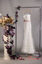 Wedding dress, by LaceBridal on etsy.com