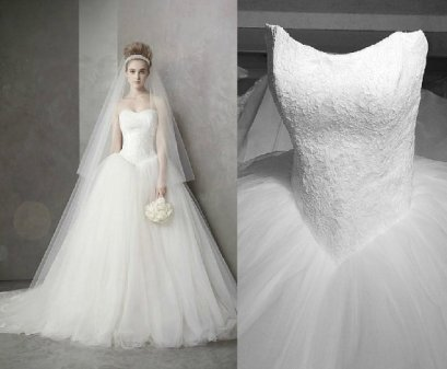 Wedding dress, by Lovingdress on etsy.com