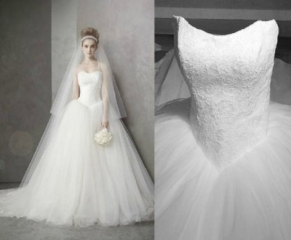Wedding dress, by Lovingdress on etsy.com