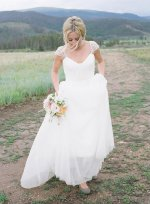 Wedding dress, by Myweddinggarment on etsy.com