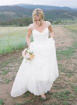 Wedding dress, by Myweddinggarment on etsy.com