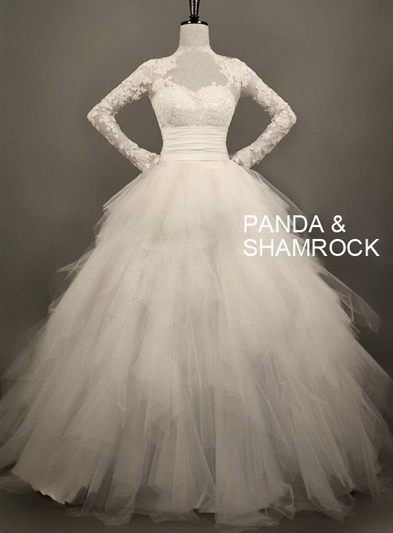 Wedding Dress By Pandaandshamrock On Etsy