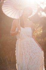 Wedding dress, by whiteromance on etsy.com