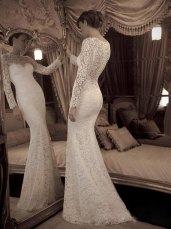 Wedding dress, by Whitesrose on etsy.com