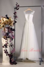 Wedding gown, by LaceBridal on etsy.com