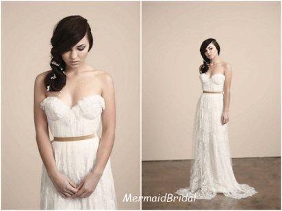 Wedding gown, by MermaidBridal on etsy.com