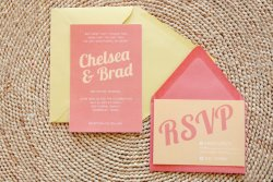 Wedding invitation, by ChristineMarieB on etsy.com