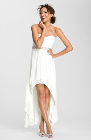 Xscape Embellished Waist Chiffon Gown, from nordstrom.com